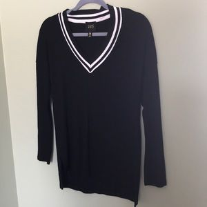 W5 ribbed knitted top